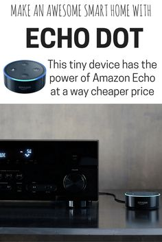 This is one of our favorite smart home tech hacks. The new Echo Dot is smarter and half the price of the original. It can do everything Alexa can do, for way less!