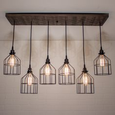 Glass Fishing Float Light Fixture, Chandelier with 7 Floats Farmhouse Light Fixtures, Dining Room Light Fixtures, Farmhouse Chandelier, Kitchen Lighting Fixtures, Kitchen Pendant Lighting, Modern Light Fixtures, Kitchen Pendants, Modern Rustic Chandelier, Pallet Furniture