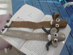 Mouton, Marque page au crochet