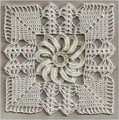 Crochet Square Pattern