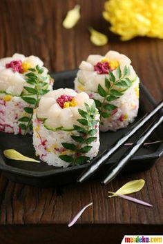 Let's be smart. Meskipun rasanya lezat, kalau sushi berbentuk seunik ini, apakah Anda rela memakannya?
