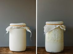 My Darling Lemon Thyme: Homemade milk kefir. Rich in probiotics and virtually lactose-free!