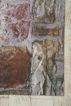 Trompe L'Oeil Floor Mat - Rock Wall