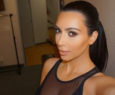 People love to hate Kim Kardashian — what are you thoughts? She recently gave Harper's Bazaar a look into her life, including her diet and exercise routine. Here's what Kim Kardashian eats all day. Kim Kardashian Selfie, Robert Kardashian, Kardashian Style, Kardashian Jenner, Kourtney Kardashian, Kardashian Photos, Kylie Jenner, Kardashian Kollection, Kendall