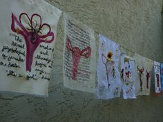 These are some more pieces of art from participants.