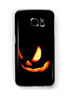 Jack-O-Lantern Samsung phone case! This is an original photograph of a spooky jack-o-lantern pumpkin carved by a New Mexico artist James W. This eerie photograph was taken at night, in darkness with the tea lights inside the pumpkin. Diy Nails At Home, Hallows Eve, Halloween Pumpkins, Pumpkin Carving, Tea Lights, Lanterns, Diy Crafts, Darkness, Evans