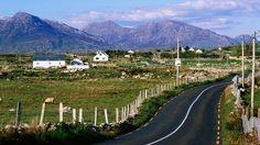 Road to the Twelve Bens. Vacation Destinations, Dream Vacations, Vacation Spots, Ireland Vacation, Ireland Travel, Honeymoon Ireland, Travel English, Wild Atlantic Way, Ireland Uk