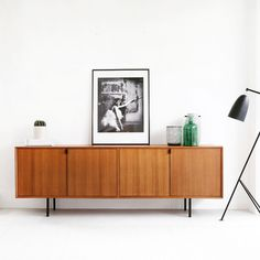 "Retro sideboard ""Salvin"" in teak (200cm) @ Furnified - 649,99€"
