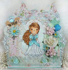 The Paper Nest: Princess Card Our new guest designer, Natalie Paselska,