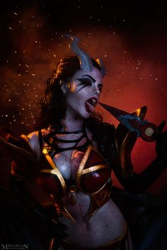 Queen of Pain Arcana Wallpaper by kingsess on DeviantArt