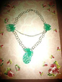 Su richiesta....collana principesca con richiami tiffany....pendente in resina dipinto a mano... filo in strass....e fiocchi in pizzo....grazie Arianna  💟🎀💟 #handmade #creatività #creation #handmade #colcuore #collana #swarovski #strass #lace #tiffany #necklaces #princess #wedding