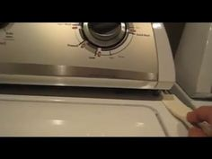 Open Whirlpool Washer - Remove Washing Machine Cover Panels; WTW57ESVW Washer Cover - YouTube