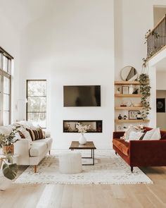 My Living Room, Home And Living, Living Room Decor, Living Spaces, Dog Spaces, Modern Living, Hygge Home, Piece A Vivre, Decoration Design
