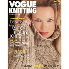 VOGUE Knitting Magazine, Fall 1998