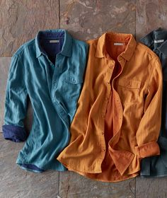 Carbon2Cobalt's assortment of effortlessly cool men's shirts features a variety of styles including our Infinite Shirt featuring a soft double cloth knit.