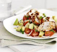 Chicken Breast With Avocado Salad Recipe on Yummly. @yummly #recipe