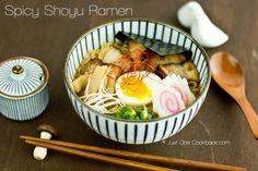 Spicy Shoyu Ramen Recipe | Easy Japanese Recipes at JustOneCookbook.com