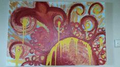 Acrylic on Canvas pa