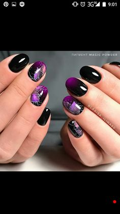 Love Nails, Pretty Nails, Manicures, Gel Nails, Autumn Nails, Gel Nail Designs, Lavender Flowers, Nail Polish Colors, French Nails