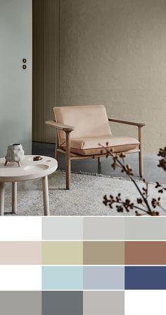 2018 interiors colour trends - Essential palette