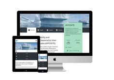 Arctic Research Programme: Arctic research gets digital overhaul. #webdesign #digital #design