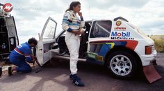 Known for her Audi career, Michele Mouton later switched to the conquering Peugeot 205 team Audi Sport, Sport Cars, Race Cars, Peugeot 205 Turbo 16, Grand Raid, Automobile, Rally Raid, Subaru Wrx, Car And Driver