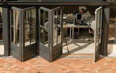 Stunning 5 door set featuring a panel base and a 4 pane design