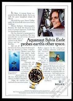 1985 rolex submariner #watch maui jim #deep-sea diving suit diver #vintage print ,  View more on the LINK: http://www.zeppy.io/product/gb/2/361787103196/