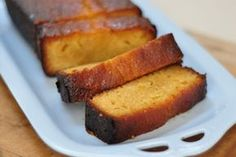 use coconut sugar instead of caster. Lemon Syrup Cake, Honey Syrup, Loaf Cake, Christmas Cooking, Coconut Sugar, Cake Recipes, Delish, Vegetarian Recipes, Sweets
