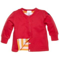 POLARN O. PYRET Newborn Reversible Sweatshirt Cardigan