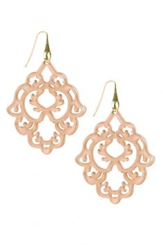 LUNCH DATE | Earrings Ornament: http://www.littlesoho.com/miccys-oorbellen-ornament-nude-p-30374.html