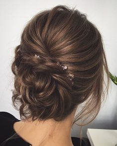 Coiffure mariage : – Flashmode Trends – Coiffure mariage : 15 Wedding Hairstyles for 2017 Wedding Updo Hairstyles with Greenery Decorations Wedding Hairstyles For Long Hair, Wedding Hair And Makeup, Hairstyle Wedding, Updo For Long Hair, Wedding Nails, Bride Makeup, Hair Makeup, Curly Hair, 3c Hair