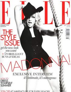 Elle Magazine Cover 2008