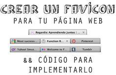 Crear un FAVICON para tu página Web.