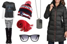 Game Day Fashion: New England Patriots - Girls Love the Game
