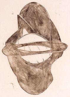 Naum Gabo, monoprint