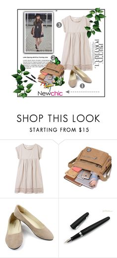 """Newchic"" by sennci ❤ liked on Polyvore featuring Fountain, chic, New and newchic"