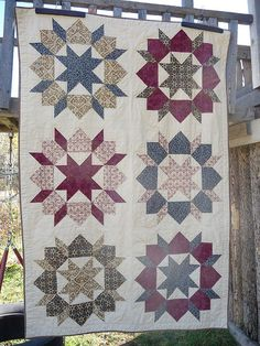 Swoon Quilt...also known as the Star of Bethlehem