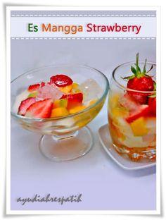 Momylicious...: Es Mangga Strawberry