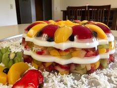 Do you want healthy desserts? Find the best tips by reading this post. Gelatin Recipes, Jello Recipes, Baking Recipes, Dessert Recipes, Healthy Desserts, Delicious Desserts, Jelly Desserts, Jello Cake, Flan Recipe