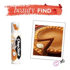 """""""Beauty Find: Chapstick Pumpkin Pie"""" by polyvore-editorial ❤ liked on Polyvore featuring beauty and beautyfind"""