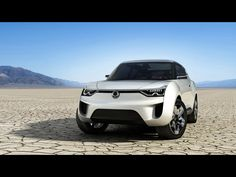 2012 SsangYong XIV-2 Concept - Front Angle. Image SsangYong