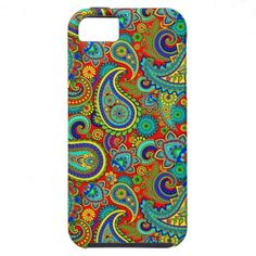 Colorful Vintage Orante Paisley iPhone 5/5S Covers