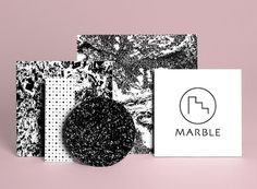 Marble // Interior pages from Retreat, 4 colour Risograph zine by Terrence Reeves. 2012