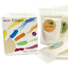 Look at this Eco-Finger Paint Set by eco-kids