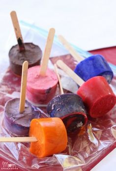 Ice Paints for Kids