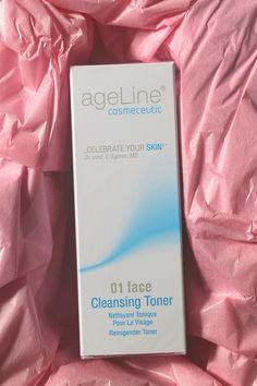 Toner von ageLine  #beauty #face #facetoner #cleansing #cleansingtoner #toner #gesichtsreinigung #ageline #agelinecosmeceutic