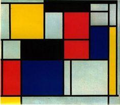 2. No todo el arte es expresivo de una emoción. Algunas obras están solo interesadas en las relaciones formales, como, por ejemplo, las composiciones de Mondrian.