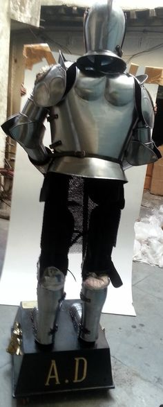 Stage 1 Assembly of the Custom Lion Armour