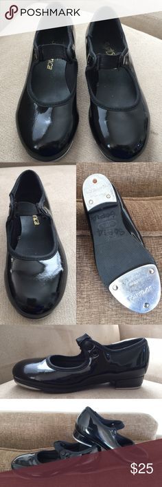 So Dance size 11 Girls shoe. Gorgeous Dance shoe.👞👞shiny black, excellent condition. Like new👞👞👞made in Brazil. So Danca Other